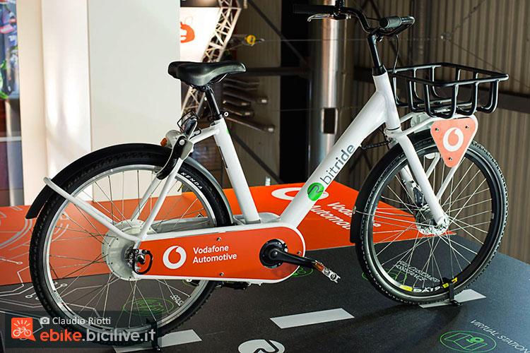 foto della ebike  Bitride di Vodafone