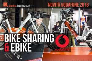 ebike bitride e bike sharing vodafone 2018