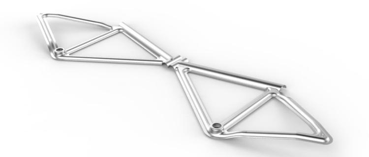 Telaio Pressed Bike Leaos
