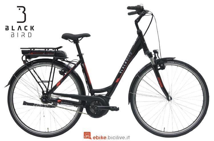 Bici elettrica Black Bird NX-7