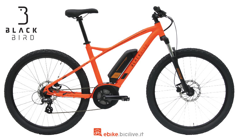 La eMTB front RS-E1 di Black Bird