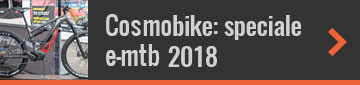 CosmoBike Show speciale MTB elettriche 2018
