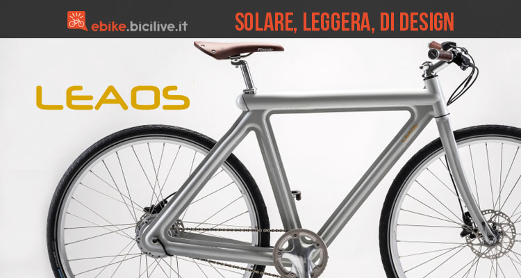 Bicicletta a pedalata assistita Leaos Pressed Bike