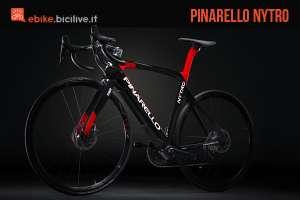 bici elettrica da corsa pinarello nytro
