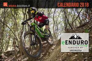 biker durante tappa dell'e-enduro specialized