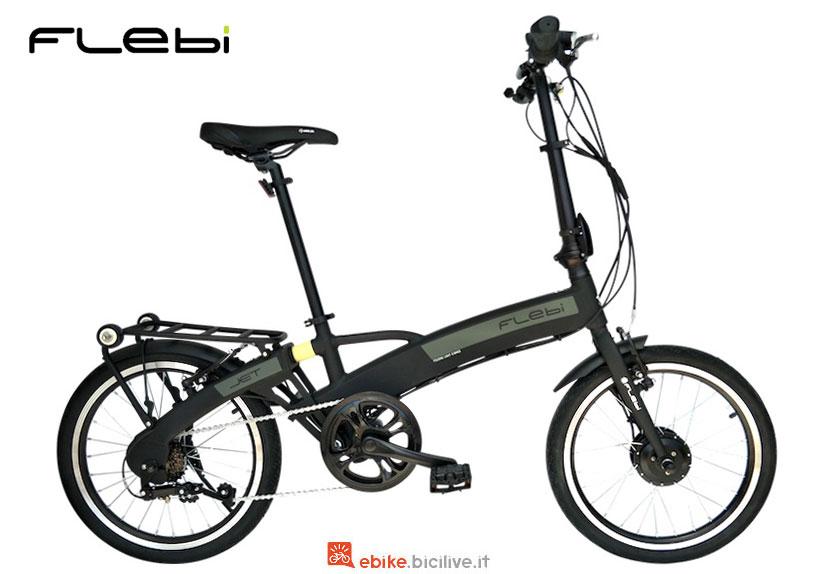 La bici pieghevole a pedalata assistita Flebi Jet