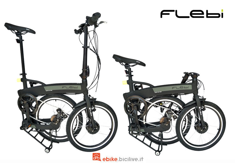 Una folding bike Flebi Jet