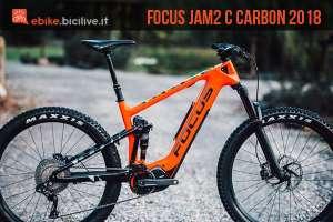 emtb full focus jam c carbon 2018