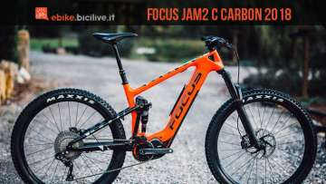 emtb full focus jam c carbon 2018
