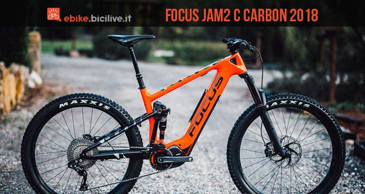 focus jam2 c carbon 2018 emtb full suspended 18 chili. Black Bedroom Furniture Sets. Home Design Ideas