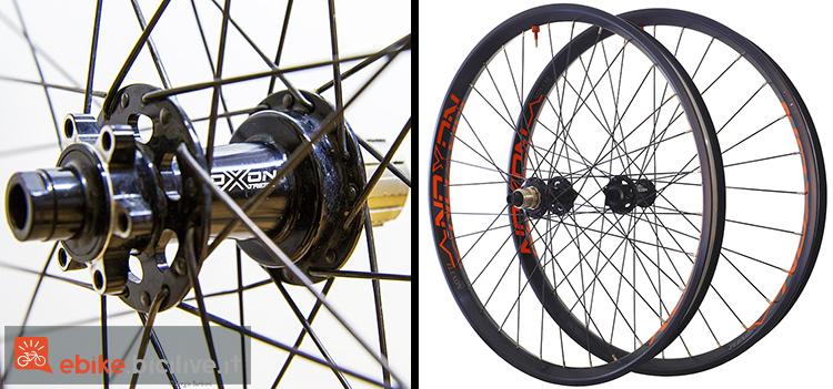 foto delle ruote specifiche per eMTB Noxon Elexon