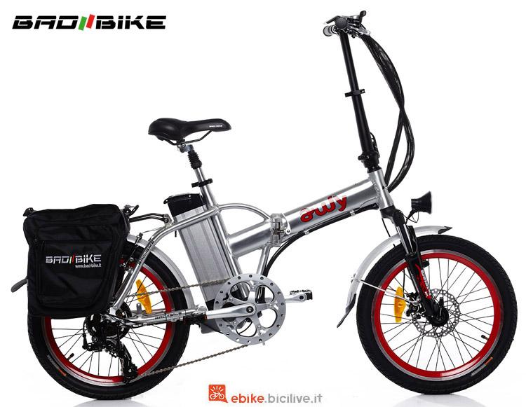 Una bici pieghevole Awy del catalogo 2018 Bad Bike