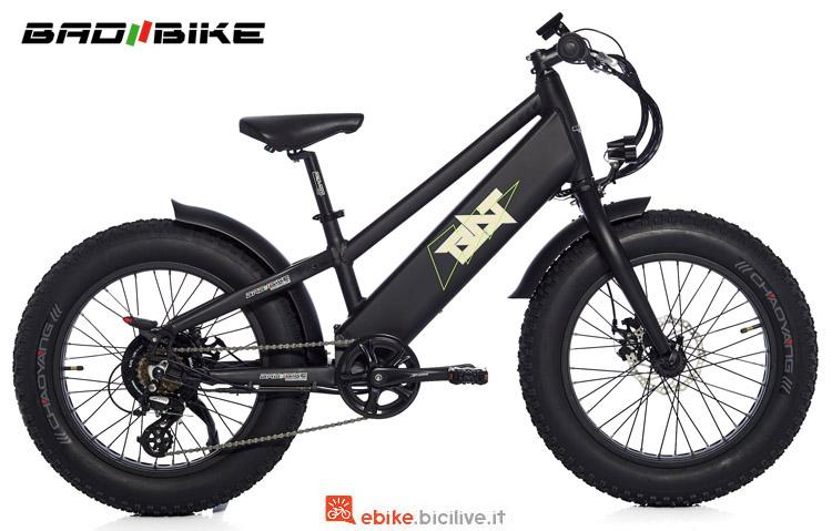 "Una ebike con ruote da 20"" Bad Bike Bat"