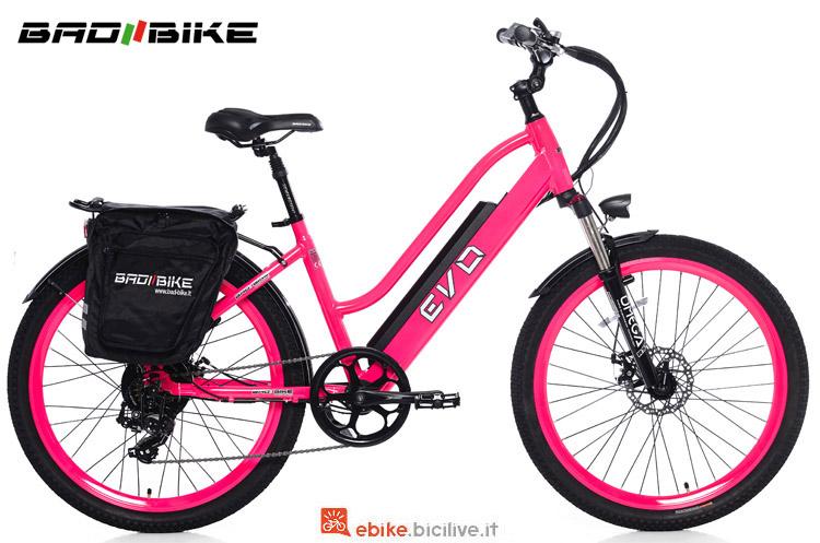 Una city ebike Bad Bike Evo 2018