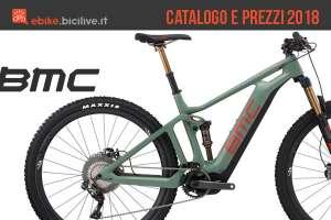 BMC ebike catalogo e listino prezzi 2018