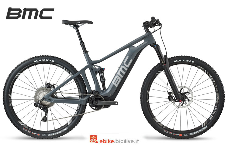 Una mtb a pedalata assistita BMC Speedfox AMP One