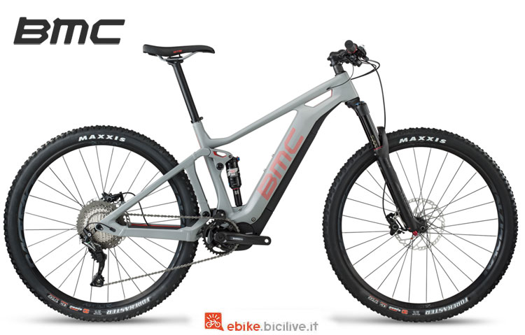 Una mtb elettrica BMC Speedfox AMP Three 2018