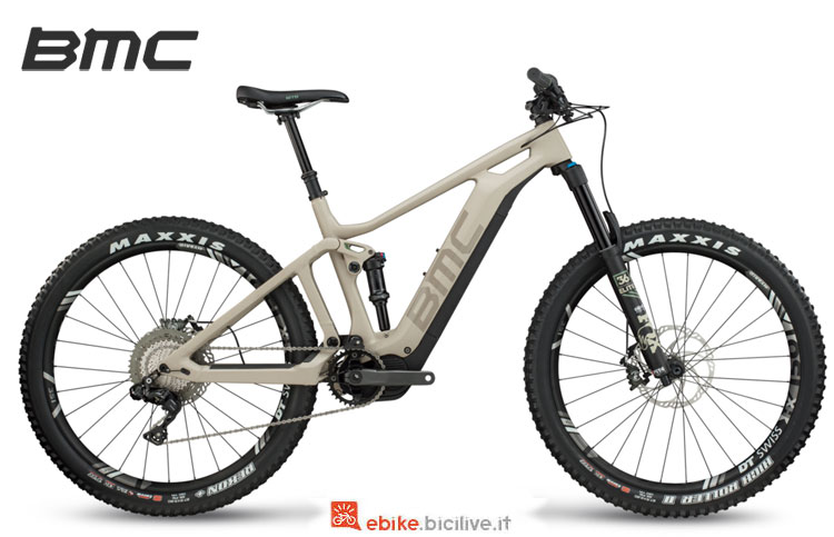 Una ebike 2018 BMC Trailfox AMP One
