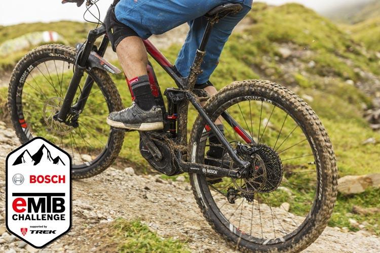 ebike con motore bosch al challenge 2018