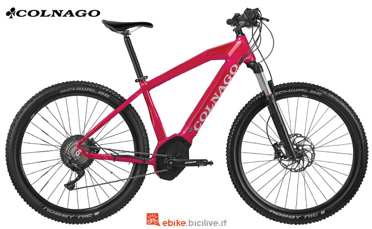 Una mountain bike a pedalata assistita Colnago E2.02 2018