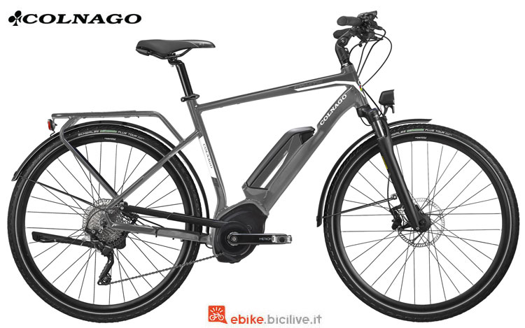 Una bici a pedalata assistita Colnago Impact-02 2018