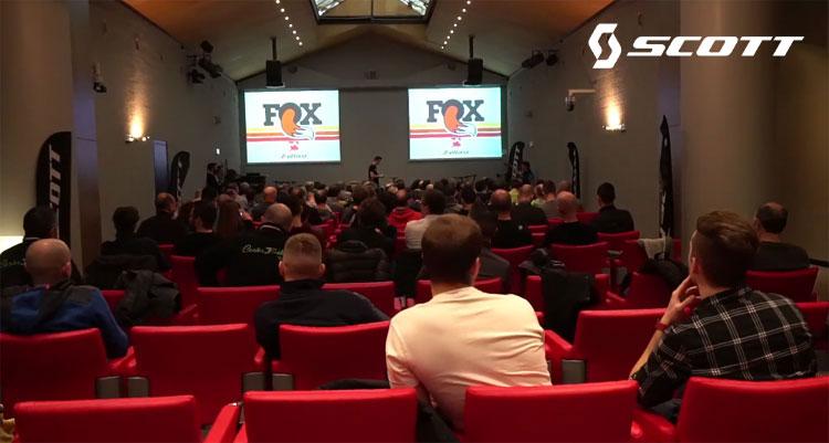 Seminario tecnico Fox per i dealer