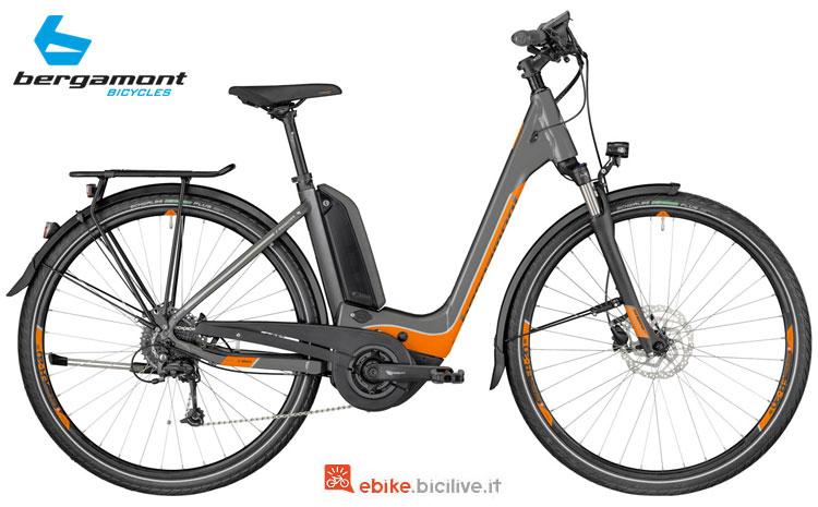 Una bici a pedalata assistita E-Horizon 6.0 Wave 2018 di Bergamont