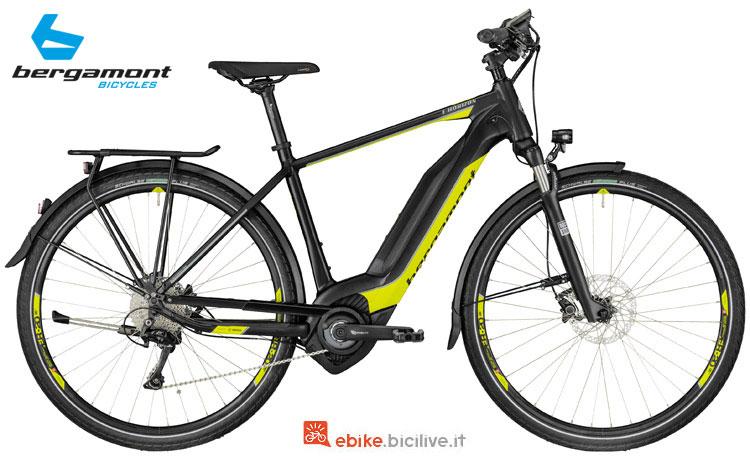 Una bici da trekking e città Bergamont E-Horizon 8.0 Gent 2018