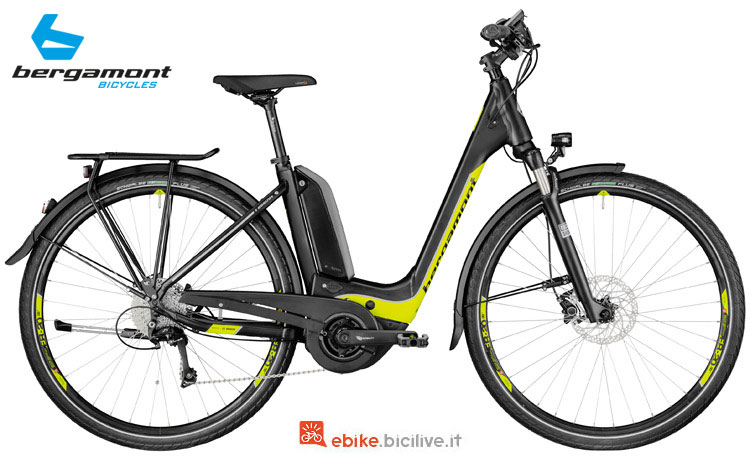 Una bici elettrica E-Horizon 8.0 Wave con accesso facilitato