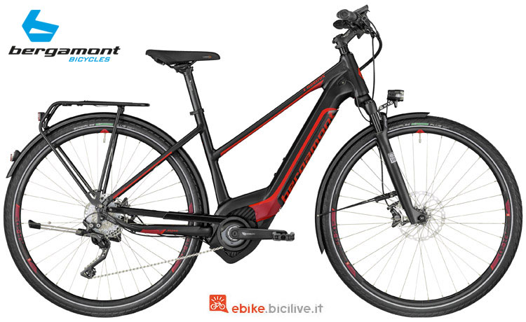 Una bici a pedalata assistita E-Horizon Elite Lady 2018 di Bergamont