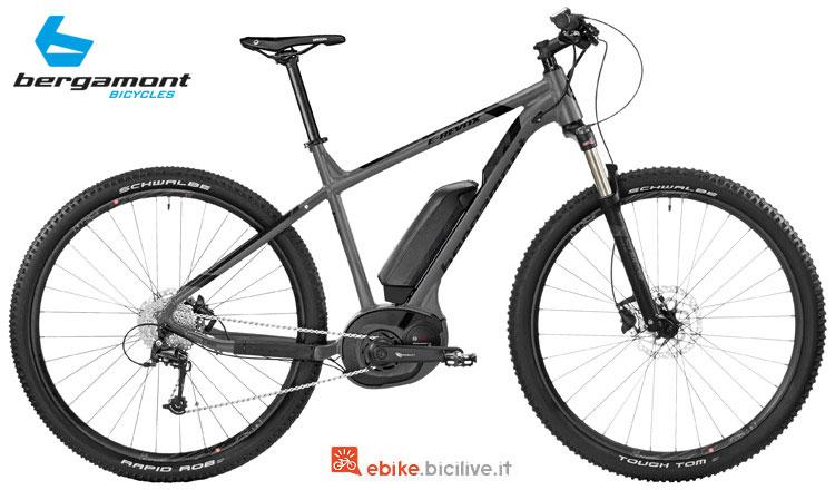 Una bici Bergamont E-Revox 4.0 elettrica
