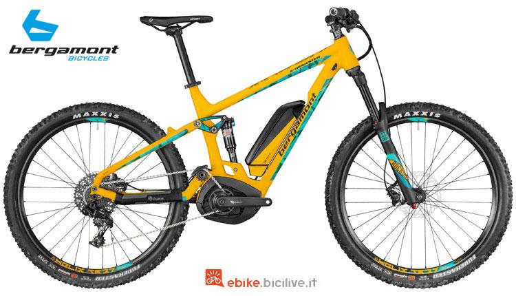 Una mtb a pedalata assistita E-Trailster 7.0 Bergamont