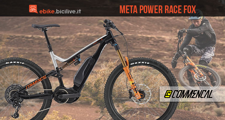 emtb da enduro commencal meta power race 2018