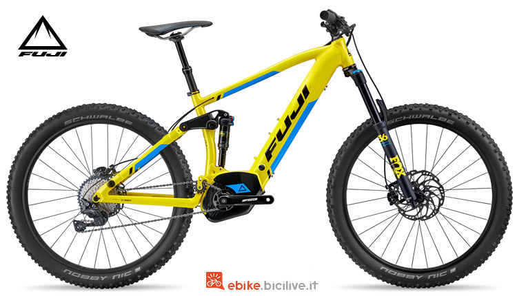 "Una mtb full suspended elettrica Blackhill EVO E-Full Suspension 27,5""+ 1.1 2018"