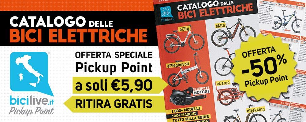 banner della promozione del Catalogo delle Bici Elettriche