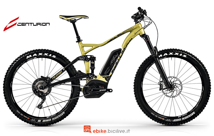 Una eMTB all mountain Centurion No Pogo E R2500 2018