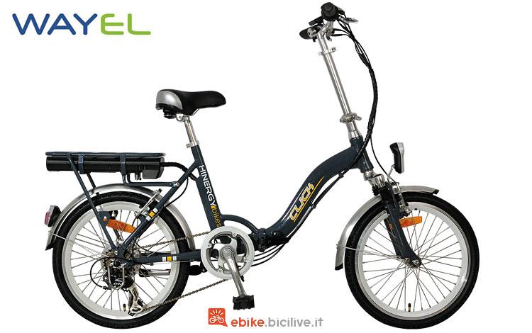 bici elettrica pieghevole wayel click