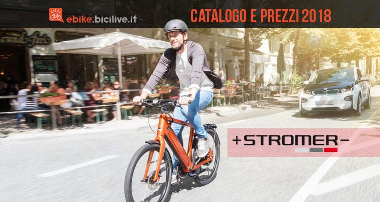 Catalogo e listino prezzi 2018 ebike Stromer