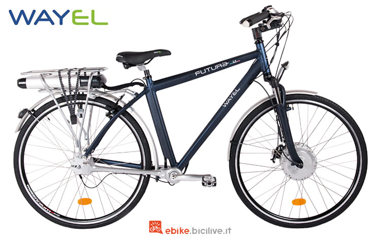 city ebike con freno a disco wayel