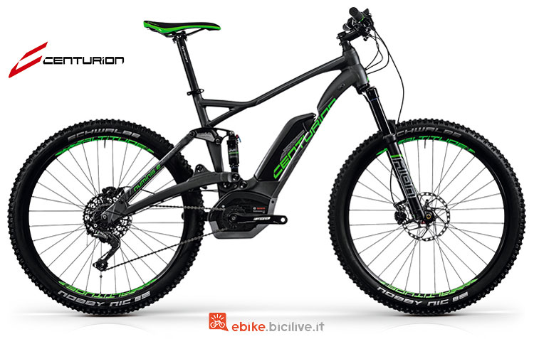 Una e-mtb da cross country Numinis E R850 2018