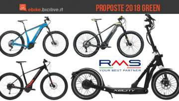 Proposte ebike 2018 azienda RMS