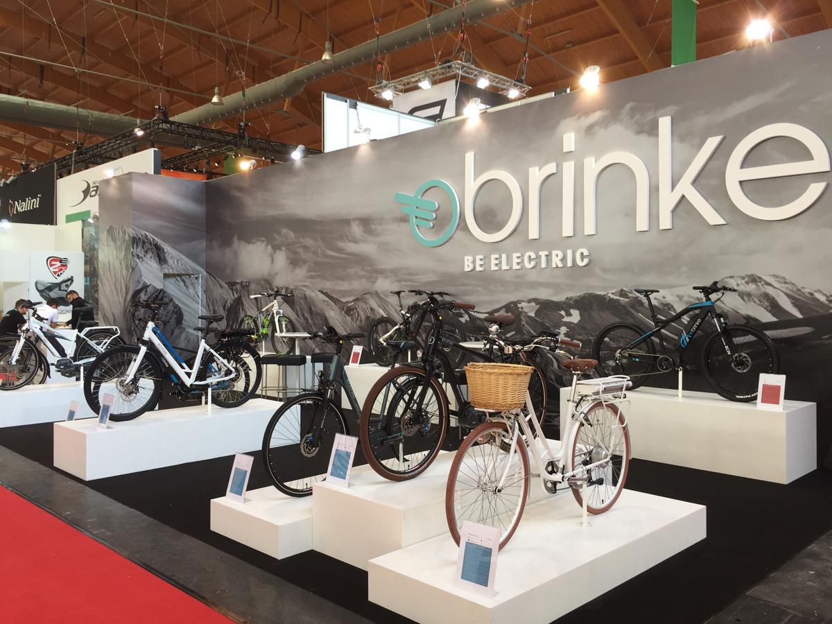 Lo stand Brinke all'edizione 2017 di Eurobike a Friedrichshafen