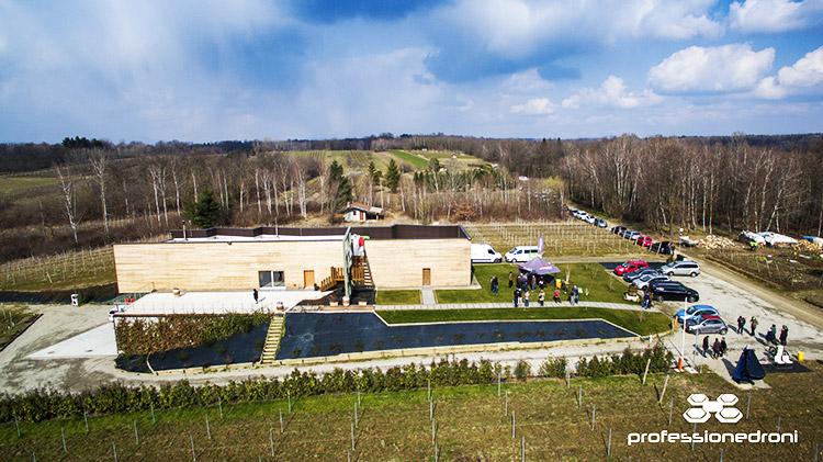 foto aerea della azienda enrico crola
