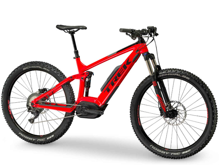 Colore Viper Red/Trek Black nella Trek Powerfly 7 FS Plus