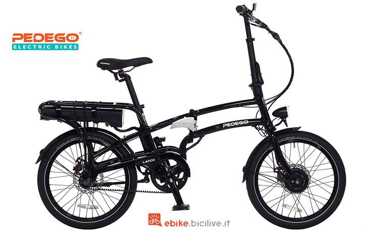 bici elettrica pieghevole dal catalogo Pedego 2018
