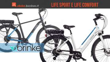 City ebike Brinke Life Sport e Life Comfort