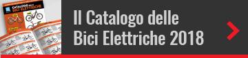 Copertina e interno del Catalogo delle Bici Elettriche 2018