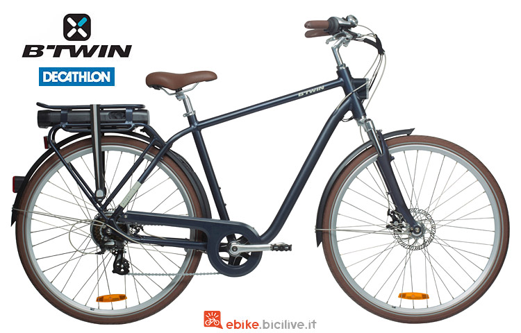 bicicletta a pedalata assistita Elops 900 by Decathlon