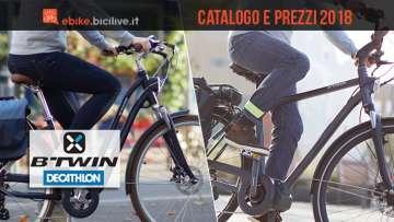 biciclette elettriche dal catalogo btwin by decathlon 2018