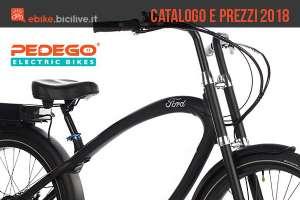 ebike dal catalogo e listino prezzi Pedego 2018